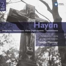 Joseph Haydn (1732-1809): Messen Nr.7,10,11,12, 2 CDs