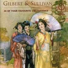 Arthur Sullivan (1842-1900): Favourite Gilbert & Sullivan, CD