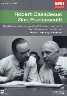 Zino Francescatti & Robert Casadesus - Classic Archive, DVD