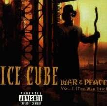 Ice Cube: War & Peace Vol.1, CD