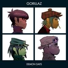 Gorillaz: Demon Days, CD
