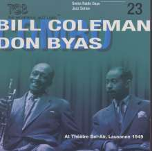 Bill Coleman & Don Byas: At Theatre Bel-Air, Lausanne 1949 Vol. 23, CD