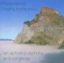 Hans Kennel: Alphorn Songbook, CD