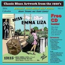 Miss Emma Liza / Various: 2014-Classic Blues Artwork From The 1920s Calendar, CD