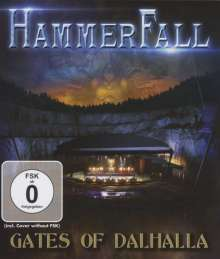 HammerFall: Gates Of Dalhalla, Blu-ray Disc