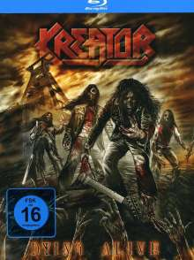 Kreator: Dying Alive (Limited Edition Digipack) (BR + 2 CD), 3 Blu-ray Discs