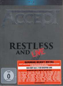 Accept: Restless And Live 2015, 3 Blu-ray Discs
