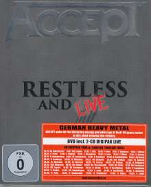 Accept: Restless And Live 2015, 3 DVDs
