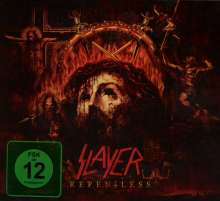 Slayer: Repentless (Limited Edition), 1 CD und 1 DVD