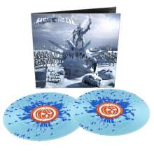 Helloween: My God Given Right (Limited Edition) (Blue Splatter Vinyl), 2 LPs