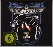 Enforcer: Live By Fire (Limited Edition), 2 CDs