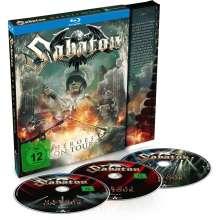 Sabaton: Heroes On Tour: Live 2015, 3 Blu-ray Discs