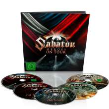 Sabaton: Heroes On Tour: Live 2015 (Limited Deluxe Earbook), 5 Blu-ray Discs