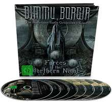 Dimmu Borgir: Forces Of The Northern Night: Live Oslo 2011 & Wacken 2012 (Limited-Earbook-Edition), 8 Blu-ray Discs