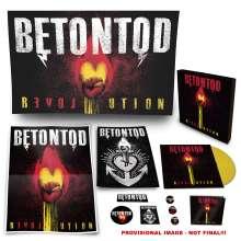 Betontod: Revolution (Limited-Edition-Fan-Box-Set) (Yellow Vinyl), 1 LP und 1 CD