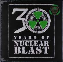 30 Years Of Nuclear Blast - Anniversary Vinylbox (Limited-Edition) (Green Vinyl), 7 LPs