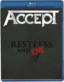 Accept: Restless And Live 2015, Blu-ray Disc