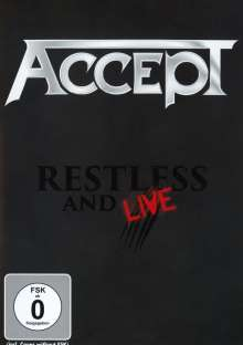 Accept: Restless And Live 2015, DVD