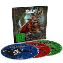Edguy: Monuments, 2 CDs und 1 DVD