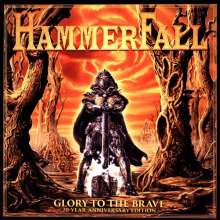 HammerFall: Glory To The Brave (20-Year-Anniversary-Edition) (remastered), 2 LPs