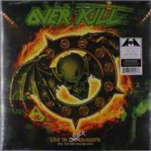 Overkill: Live In Overhausen Volume Two: Feel The Fire (Limited-Edition) (Green/Orange/Yellow Splatter Vinyl), 2 LPs