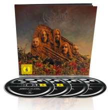 Opeth: Garden Of The Titans (Live At Red Rocks Amphitheater 2017), 1 Blu-ray Disc, 1 DVD und 2 CDs