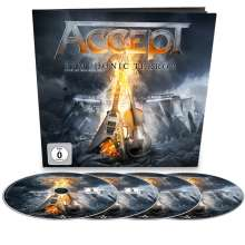 Accept: Symphonic Terror: Live At Wacken 2017 (Limited-Earbook-Edition), 2 CDs