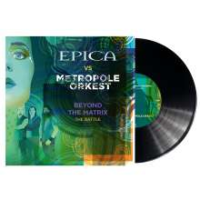 Epica: Beyond The Matrix - The Battle (Limited-Edition), Single 10""