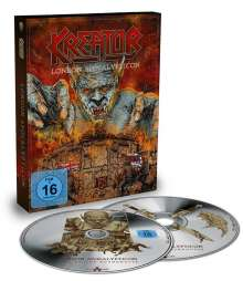 Kreator: London Apocalypticon: Live At The Roundhouse, 2 Blu-ray Discs