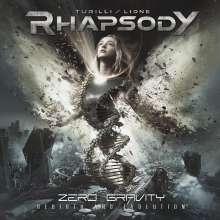 Luca Turilli's Rhapsody: Zero Gravity (Rebirth And Evolution), CD