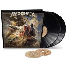 Helloween: Helloween (Earbook) (Limited Edition), 2 LPs und 2 CDs