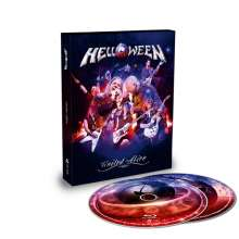 Helloween: United Alive In Madrid (Limited Edition), 2 Blu-ray Discs