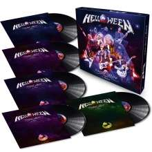 Helloween: United Alive In Madrid, 5 LPs
