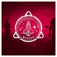 Madsen: Lichtjahre Live, 3 CDs