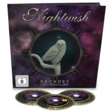 Nightwish: Decades: Live In Buenos Aires (Limited Earbook), 3 CDs