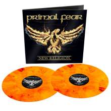 Primal Fear: New Religion (Reissue) (Limited Edition) (Orange W/ Red Marbled Vinyl), 2 LPs