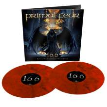 Primal Fear: 16.6 (Before The Devil Knows You're Dead) (Reissue) (Limited Edition) (Red/Black Marbled Vinyl), 2 LPs