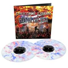 Primal Fear: Live In The USA (Reissue) (Limited Edition) (White/Blue/Red Marbled Vinyl), 2 LPs