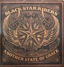 Black Star Riders: Another State Of Grace (Limited Edition) (Gold with Black Splatter Vinyl), LP