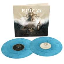 Epica: Omega (Limited Edition) (Turquoise/Black Marbled Vinyl), 2 LPs