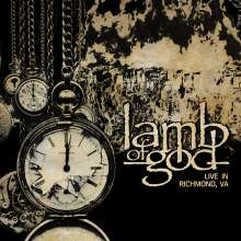 Lamb Of God: Live In Richmond, VA, 1 CD und 1 DVD