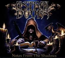 Astral Doors: Notes From The Shadows, CD
