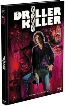The Driller Killer (Blu-ray & DVD im Mediabook), 1 Blu-ray Disc und 1 DVD