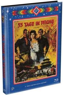 55 Tage in Peking (Blu-ray im wattierten Mediabook), Blu-ray Disc