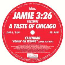 "Braxton Calendar/Holmes: Comin' On Strong / Stomps & Shouts, Single 7"""