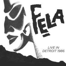 Fela Kuti: Fela Kuti Live In Detroit 1986, 2 CDs