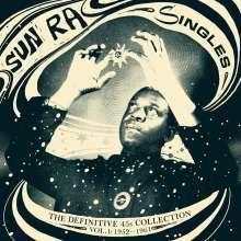 Sun Ra (1914-1993): Singles Vol.1: 1952 - 1961 (remastered), 3 LPs