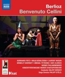 Hector Berlioz (1803-1869): Benvenuto Cellini, Blu-ray Disc