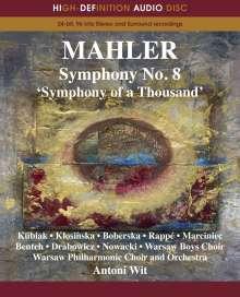 Gustav Mahler (1860-1911): Symphonie Nr.8, Blu-ray Audio