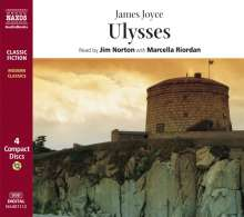 Joyce,James:Ulysses (in engl.Spr.), 4 CDs